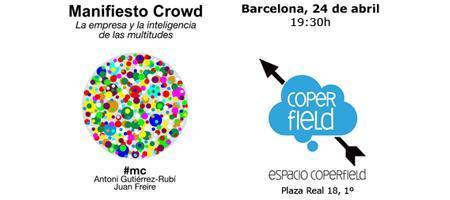 """Presentación en Barcelona de """"Manifiesto Crowd: La..."""
