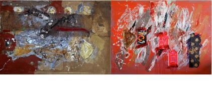 TIBET HOUSE PRESENTS: Form Is Emptiness Abstract Paintings...