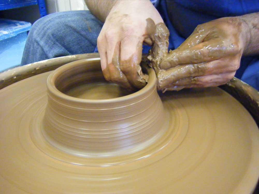 Ceramics: Functional pots (wheelthrown and handbuilt)