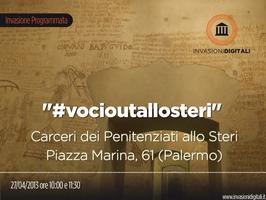 """Invasione digitale Steri Palermo - """"#vocioutallosteri"""""""
