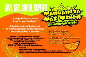 Westchester LeTip Margarita May Mixer!