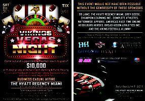 Norland Vikings Vegas Night