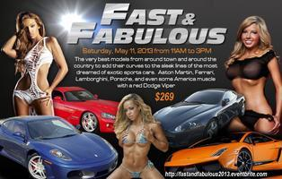Fast and Fabulous Exotic Car and Glamour Model Workshop
