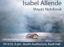Isabel Allende: Maya's Notebook