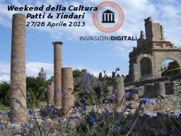#invasionidigitali del 3° Weekend della Cultura Patti...