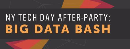 NY Tech Day After-Party: Big Data Bash