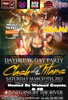 DAY PARTY SPRINGBREAK MIAMI MARCH 9TH