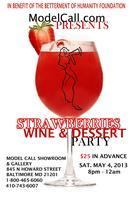 Strawberries Wine & Dessert Party
