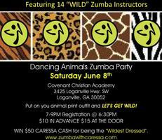 Dancing Animals Zumba Party!