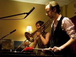 Summerglen Trombone & Marimba Duo at Sleeping Moon Cafe