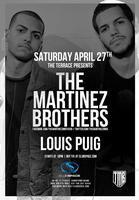 ✦ THE MARTINEZ BROTHERS ✦ SPACE MIAMI ✦ Saturday,...