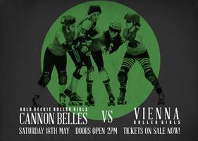 Live Roller Derby! ARRG Cannon Belles vs Vienna Roller...
