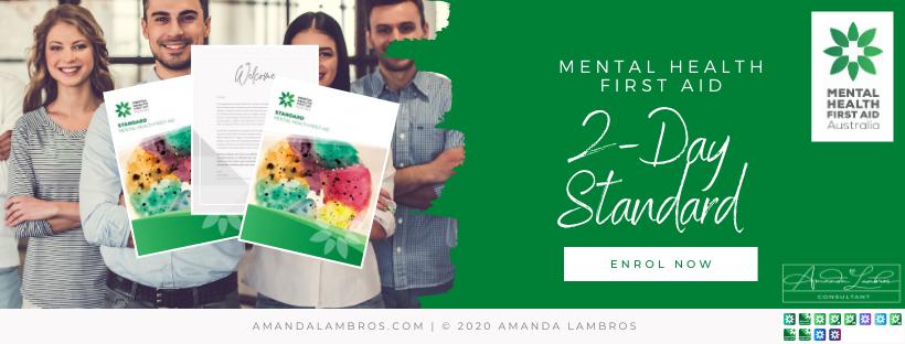 Mental Health First Aid - Standard 2 Day Training