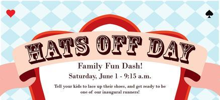 First Annual Hats Off Day Family Fun Dash