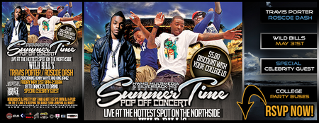 May 31st Performing Live! - Travis Porter - Roscoe...