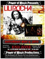 POWER OF MUSIC presents: LILI ROCHA and  AFRO BRICK