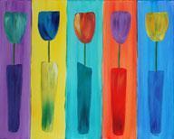 Tulips in Tune - Color Me Mine - 5-6-13