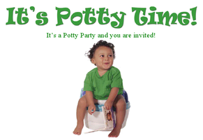 Potty Power! Potty Training Party