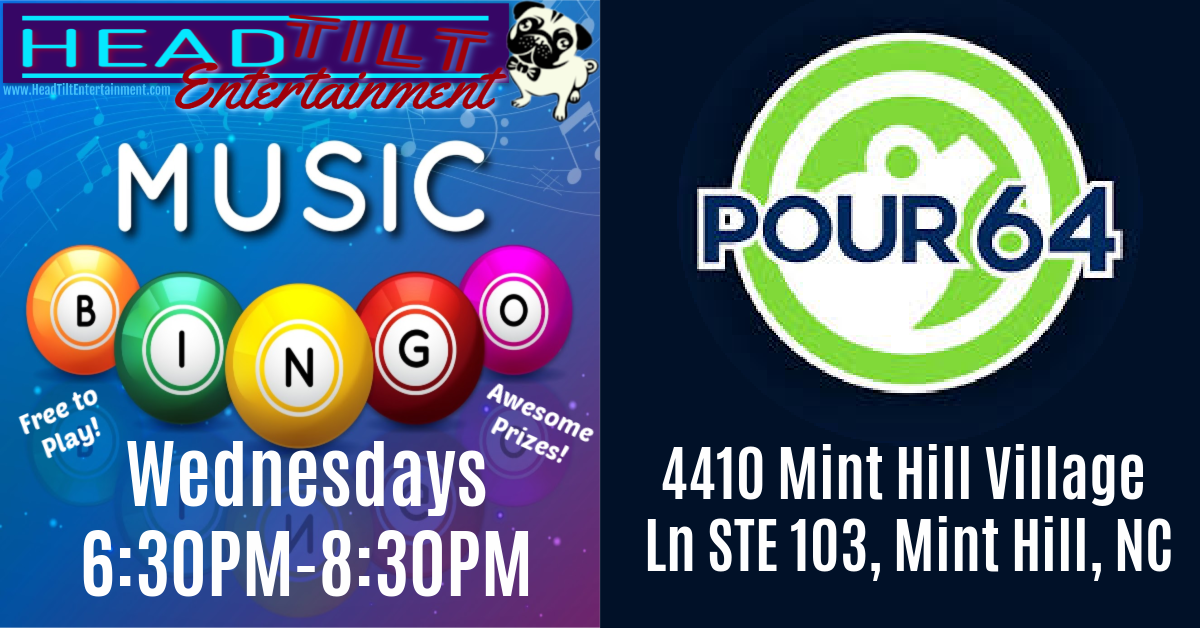 Music Bingo at Pour 64!
