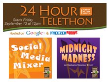 24-Hour Telethon Volunteer Planning Party - May