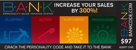 THE B.A.N.K.™ CODE -- CRACK THE PERSONALITY CODE &...