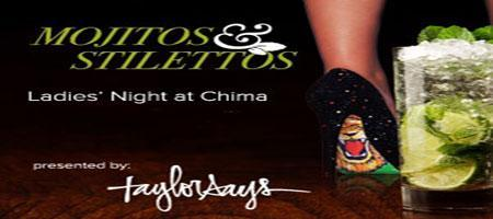 Mojitos & Stilettos at Chima (May 31st, 2013)