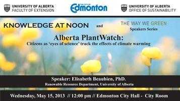 Alberta PlantWatch: Citizens as 'eyes of science'...