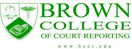 Brown College of Court Reporting   OPEN HOUSE