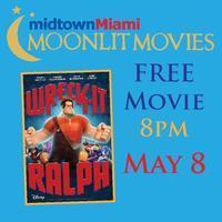 Midtown Miami Moonlit Movie