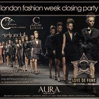 Crystal King invites you to London Fashion Week Closing...