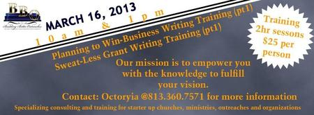 Planing to Win! - Business Writing Training