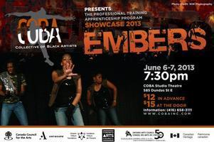 COBA presents Embers 2013