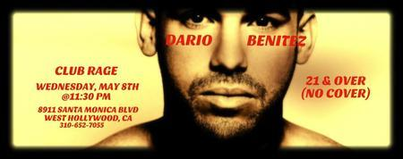 Dario Benitez Live in Los Angeles (NO COVER), WEDS May...