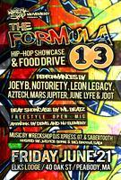 THE FORMULA 13 - HIP HOP SHOWCASE