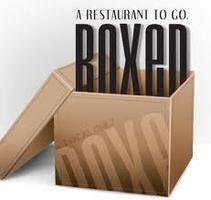 Boxed Dinner: June 3rd & 4th, 2013
