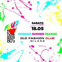 Club Haus 80's Fluo |SATURDAY| Old Fashion Club Milano