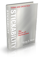 Think and Grow Rich ~ Stickability