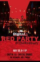 Digital LA - Red Party: Digital Drinks @ Redbury