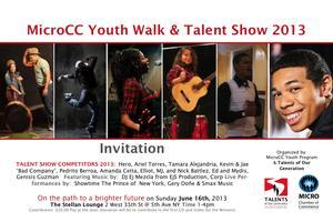 MicroCC Youth Walk & Talent Show Competition 2013