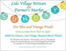 Lido Village Artisan Market