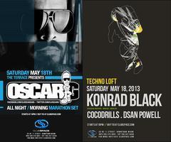 ✦ COCODRILLS + OSCAR G + KONRAD BLACK  ✦ SPACE MIAMI ✦...