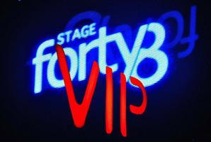VIP BOTTLE SERVICE - STAGE 48  - FRIDAY 07/26/13