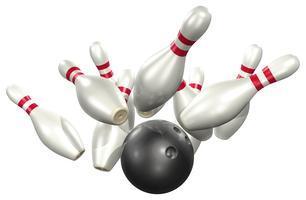 Bowling at Woodleaf Lanes