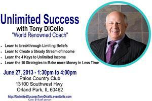 Unlimited Success with Tony DiCello
