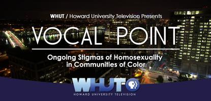Join WHUT For This Months Taping of Vocal Point:...