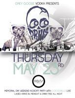 ✦ COCODRILLS ✦ OASIS Night Life ✦ Thursday, May 23 ✦...