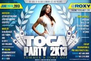 Toga Party 2k13