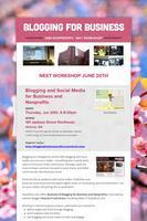Blogging for Businesses and Nonprofits - West...