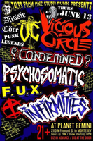 THURSDAY, JUNE 13th - VICIOUS CIRCLE - CONDEMNED -...