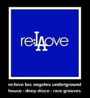 re:love X los angeles stickers